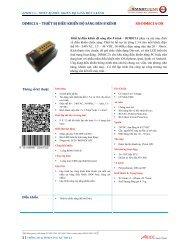 dim8c1a – thiết bị điều khiển độ sáng đèn 8 kênh sb ... - Smart-Bus