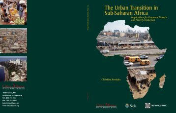 The Urban Transition in Sub-Saharan Africa - Cities Alliance