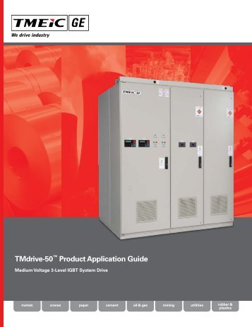 TMdrive-50™ Product Application Guide - Tmeic.com
