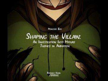 Shaping the Villain: - Bournemouth University