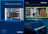 www.sortimo.co.uk Driven by engineering excellence.