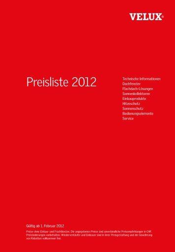 Neuheit! - VELUX Schweiz AG