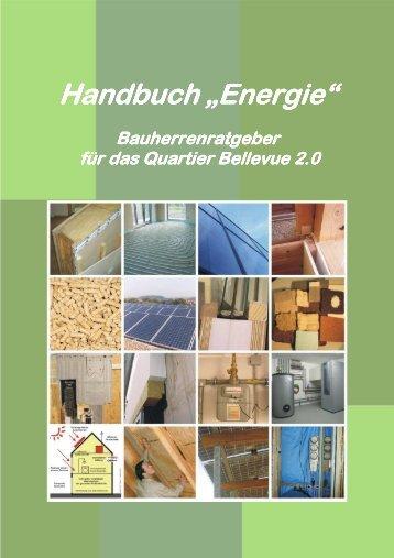 """Handbuch """"Energie"""" Bellevue 2.0"""