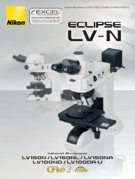 Industrial Microscopes - Excel Technologies, Inc.