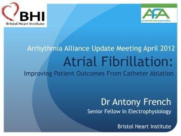 Atrial Fibrillation: - Arrhythmia Alliance