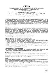 Bando allegato - Regione Calabria