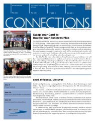 June Connections New.. - West Shore Chamber of Commerce