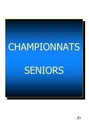 Championnats seniors - Ligue Champagne Ardenne de basket-ball