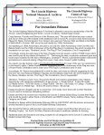 To Download Press Release - The Lincoln Highway National ... - Page 2