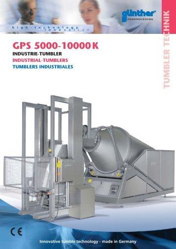 GPS 5000-10000K - Günther Maschinenbau GmbH-Dieburg