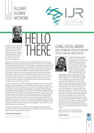 Issue 2, March 2013 - Institute for Justice and Reconciliation