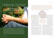 Strichakupunktur - Medizin zum Aufmalen - Beautiful Life