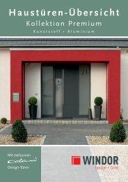Premium Haustüren Übersicht - Windor - Fensterwerke