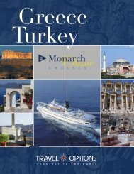 Greece and Turkey - Travel Options