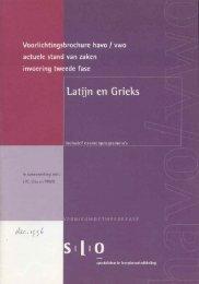 voorlichtingsbrochure kt, slo, 1996 - Stilus