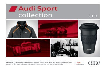 Audi Sport collection Katalog 2013 (7 MB)