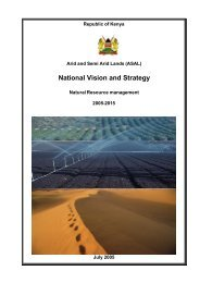 ASAL National Vision and Strategy 2005 - 2015 - Arid Lands ...