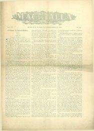 SIDNI, CB, DI-HAOI1SE. NOBHEMBER 23, 1900. No. 21. O Chionn ...