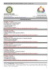 il programma virgilio per i nuovi imprenditori - Rotary Club Como