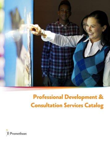 Professional Development & Consultation Services Catalog
