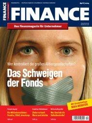 Finance - April 2004 - Klein & Coll.