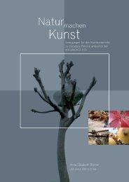 """PDF-Download """"Natur und Kunst"""" - Vermittlung von Gegenwartskunst"""
