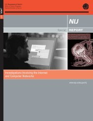 Investigations Involving the Internet and Computer Networks