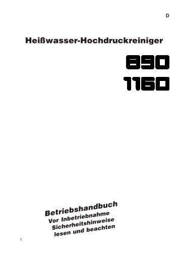 Kränzle therm 890 / 1160 - Paul Forrer AG