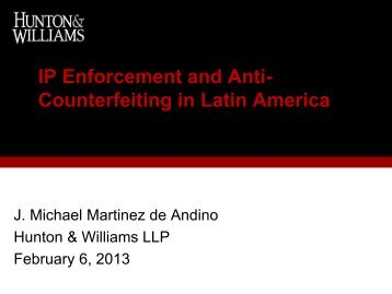 IP Enforcement and Anti- Counterfeiting in Latin ... - Best Lawyers