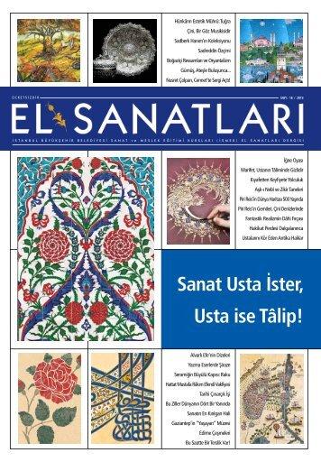 Sanat Usta İster, Usta ise Tâlip! - İSMEK - İstanbul Büyükşehir ...
