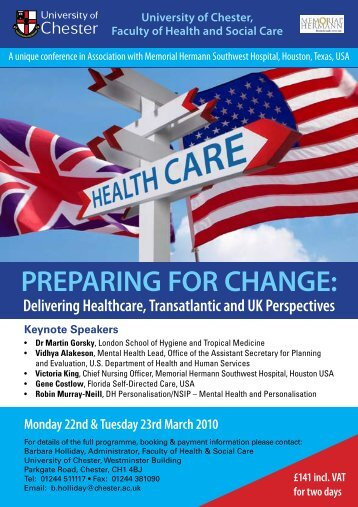 Conference flyer - Wirral University Teaching Hospital NHS ...