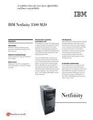 IBM Netfinity 3500 M20