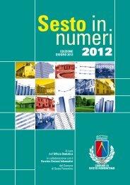 Sesto in Numeri 2012 (381 KB) - Comune di Sesto Fiorentino