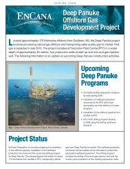 Deep Panuke Overview - Encana
