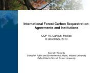 International Forest Carbon Sequestration - Belfer Center for ...