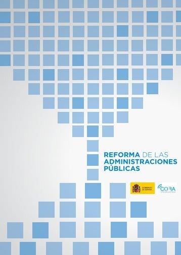 Reforma de las Administraciones Públicas (CORA) - La Moncloa