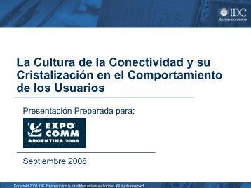 Directora del Area Telecomunicaciones de IDC LATIN ... - CICOMRA
