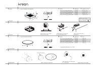 installation manual - Kreon