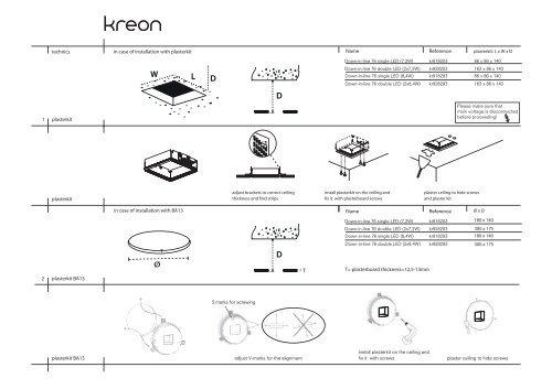 installation manual - Kreon