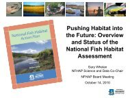 Science (Assessment Update).pdf - National Fish Habitat Partnership