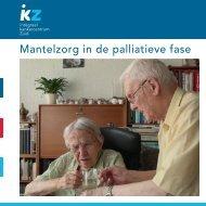 Mantelzorg in de palliatieve fase, brochure - Agora landelijk ...