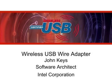 Wireless USB Wire Adapter - USB.org