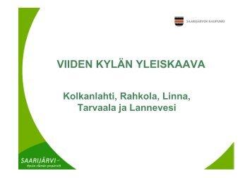 Ulla-Maija Humppi, Saarijärven kaupunki - Maaseutupolitiikka