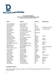 Annual General Meeting 2010 (pdf) - International Dragon Association