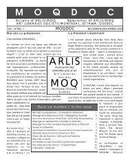 Vol. 14, no. 1 - arlis/na moq