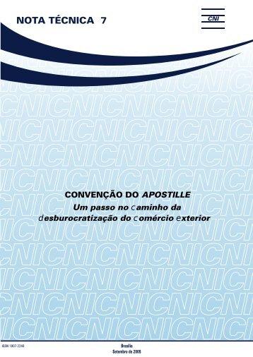 Nota Técnica 7 (pdf - 258kb)