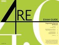 EXAM GUIDE - NCARB