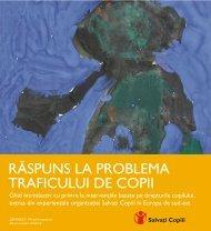 Răspuns la problema traficului de copii - Salvati Copiii