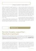 Avez-vous lu Senghor - Le français à l'université - AUF - Page 3