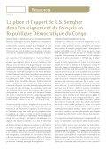 Avez-vous lu Senghor - Le français à l'université - AUF - Page 6